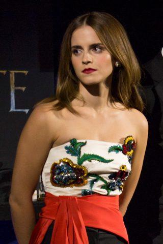 Emma Watson Promo La Belle et Bête 2