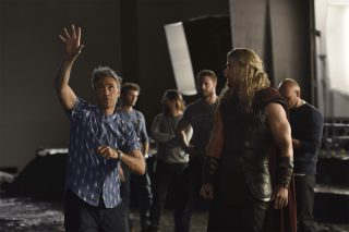 Photo tournage du film Thor 3 Ragnarok