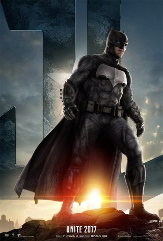 Affiche du film Justice League personnage Batman (version USA)
