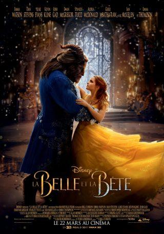 Affiche du film La Belle et la Bête Affiche officielle