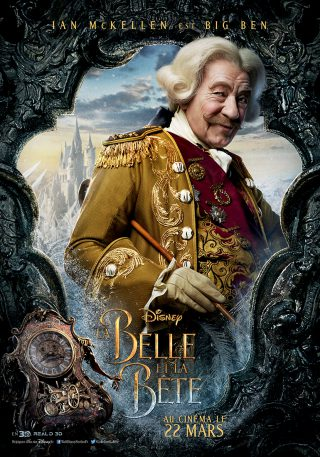 Affiche du film La Belle et la Bête Personnage BigBen