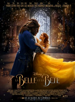 Affiche du film La Belle et la Bête Personnages Couple