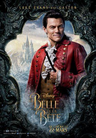 Affiche du film La Belle et la Bête Personnage Gaston