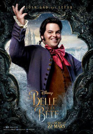 Affiche du film La Belle et la Bête Personnage Le fou
