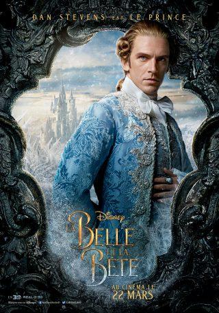 Affiche du film La Belle et la Bête Personnage Le prince