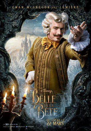 Affiche du film La Belle et la Bête Personnage La lumière