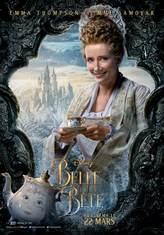 Affiche du film La Belle et la Bête Personnage Madame Samovar
