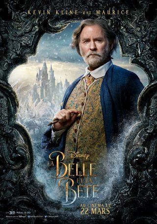 Affiche du film La Belle et la Bête Personnage Maurice