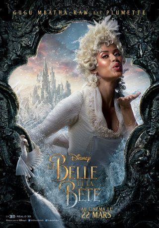 Affiche du film La Belle et la Bête Personnage Plumette
