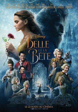Affiche du film La Belle et la Bête affiche personnage