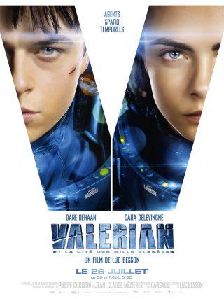 Affiche du film Valerian et la cité des mille planètes