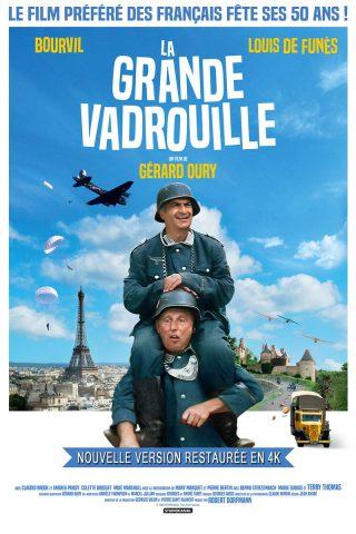 Affiche du film La Grande Vadrouille 4k